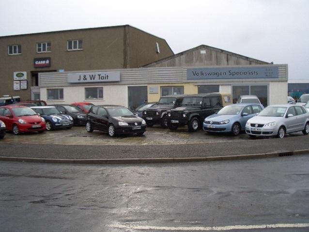 J & W Tait Ltd, Orkney - VW, Audi, Skoda, Land Rover and Isuzu ...