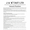 Situation Vacant - Automotive Technician