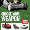 Trade in, trade up with up to £400 off selected mowers