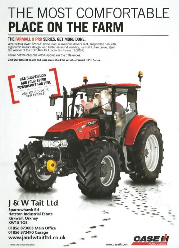 The new Farmall U Pro series - now with free cab suspension and four speed powershift