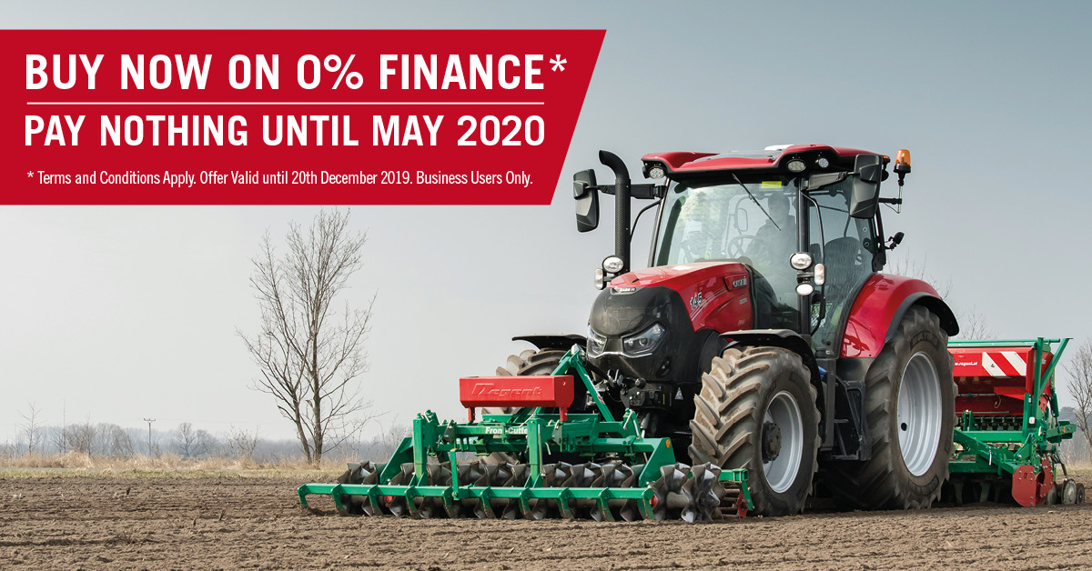 New finance offers available on Case IH Tractors